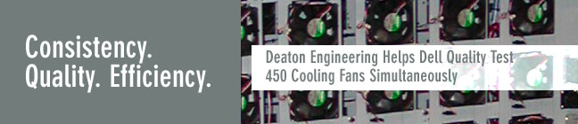 Deaton Helps Dell Quality Test Cooling Fans